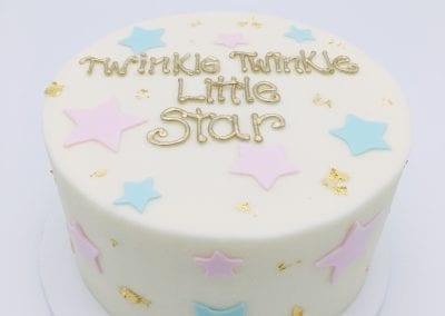 Twinkle Twinkle Little Star Cake   3 Sweet Girls Cakery