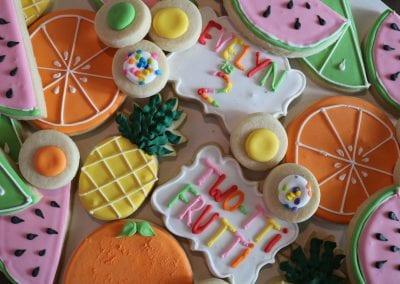 Two-Tti Fruitti Cookies | 3 Sweet Girls Cakery