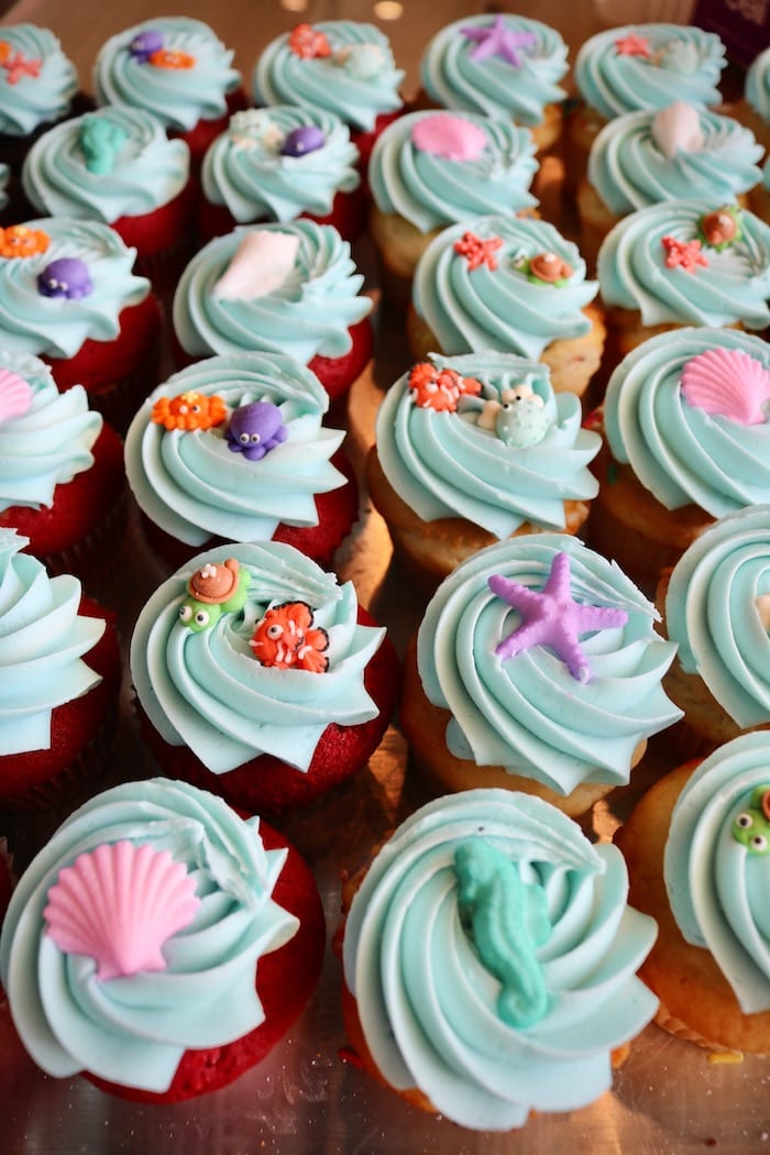 Under the Sea Cupcakes| 3 Sweet Girls Cakery
