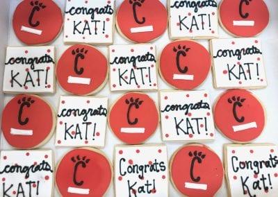 University of Cincinnati Graduation Cookies | 3 Sweet Girls Cakery