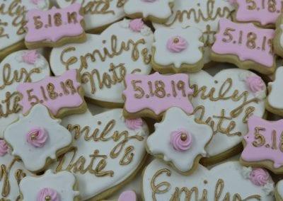 Wedding Shower Cookies   3 Sweet Girls Cakery