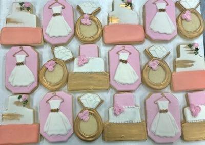Wedding Shower Cookies | 3 Sweet Girls Cakery