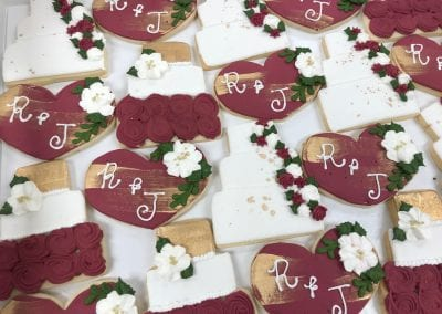 Wedding Shower Cookies | 3 Sweet Girls Cakery