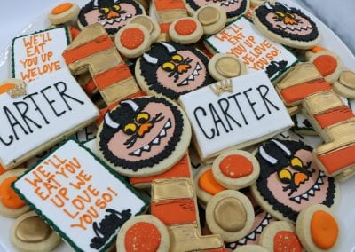 Where the Wild Things Are Cookies | 3 Sweet Girls Cakery