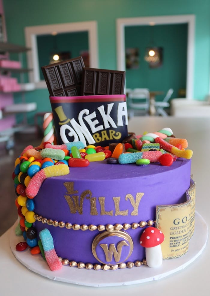 Willy Oneka Cake for First Birthday | 3 Sweet Girls Cakery