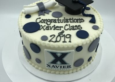 Xavier Graduation Cake | 3 Sweet Girls Cakery