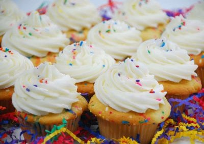 Birthday Confetti Cupcakes