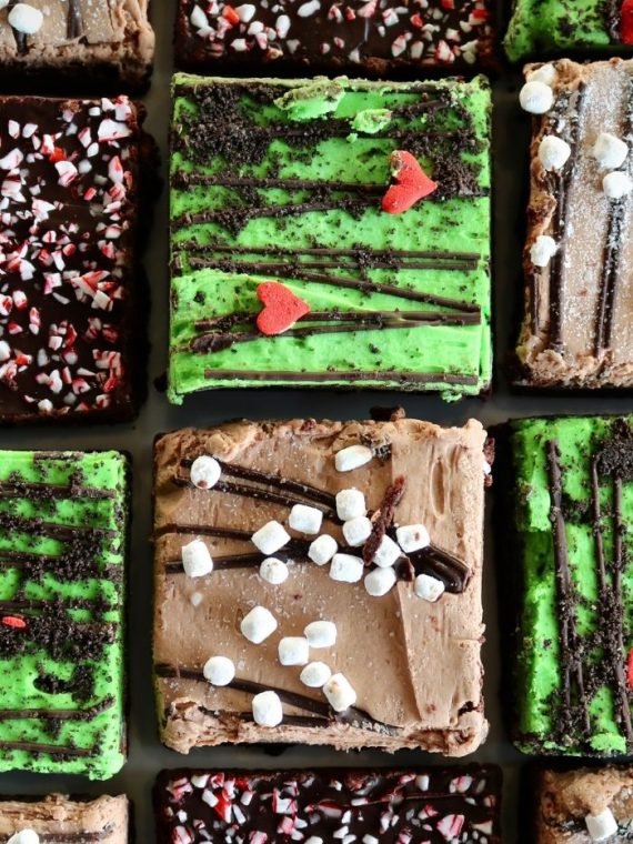 Christmas Brownies | 3 Sweet Girls Cakery