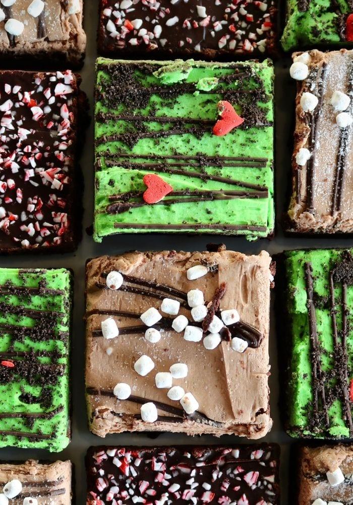 Christmas Brownies | 3 Sweet Girls Cakery