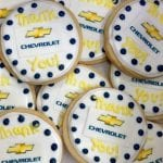Chevrolet Corporate Logo Cookies