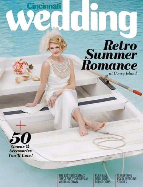 cincinnati wedding magazine cover