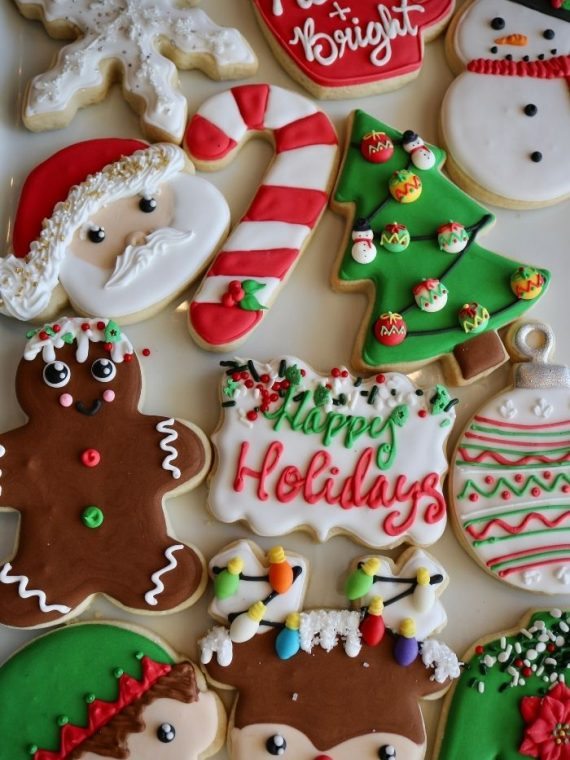 Christmas Cookies | 3 Sweet Girls Cakery