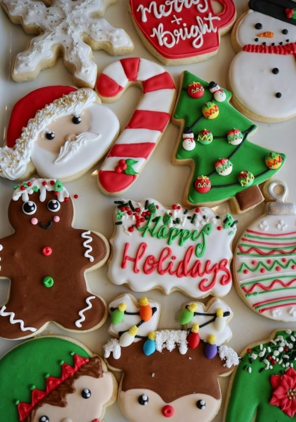 Christmas Cookies | 3 Sweet Girls Cakery