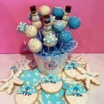 Corporate Logo Seasonal Treats Cake Pops Cookies