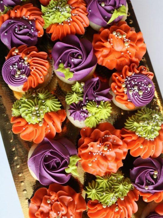 Thanksgiving Cupcakes   3 Sweet Girls Cakery