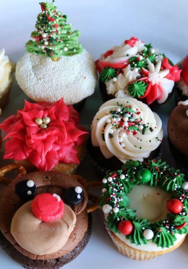 Christmas Cupcakes | 3 Sweet Girls Cakery