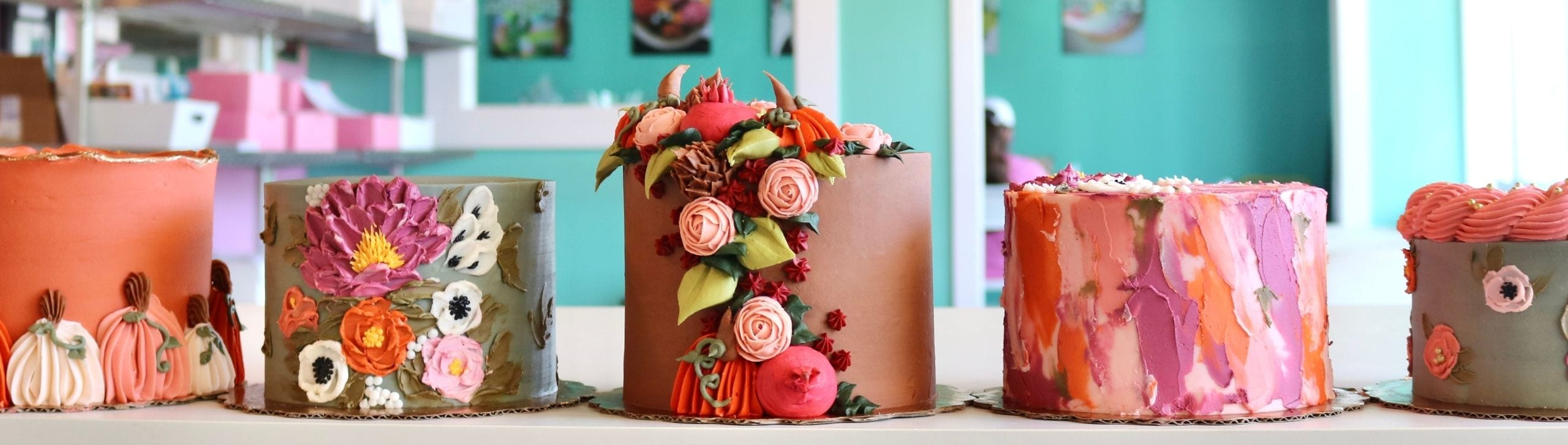 Floral Cakes | 3 Sweet Girls Cakery
