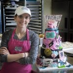 Flying Pig Marathon Cake Created by Lauren Ebbert