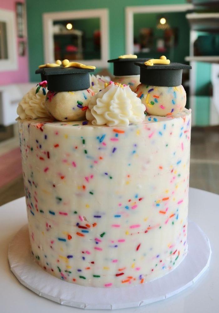 Graduation Cake | 3 Sweet Girls Cakery