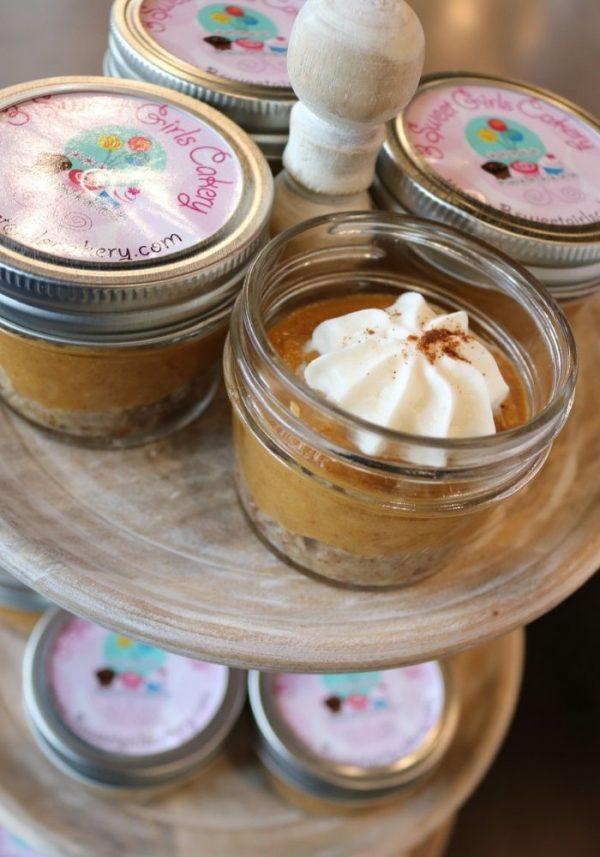 Keto Pumpkin Pie Jar   3 Sweet Girls Cakery