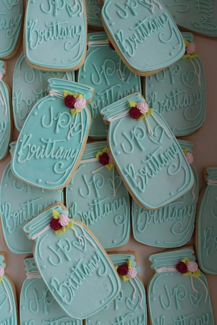 Mason Jar Cookies   3 Sweet Girls Cakery