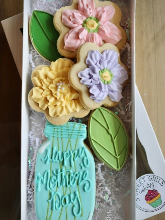 Mother's Day Cookies | 3 Sweet Girls Cakery