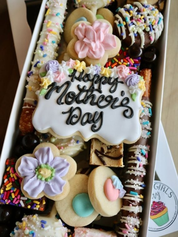 Mother's Day Dessert Charcuterie | 3 Sweet Girls Cakery