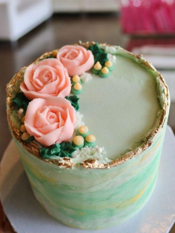 Mother's Day Mini Cake | 3 Sweet Girls Cakery