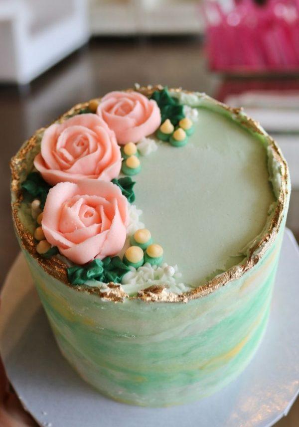 Mother's Day Mini Cake   3 Sweet Girls Cakery