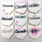 Ohio Flying Pig Cookies