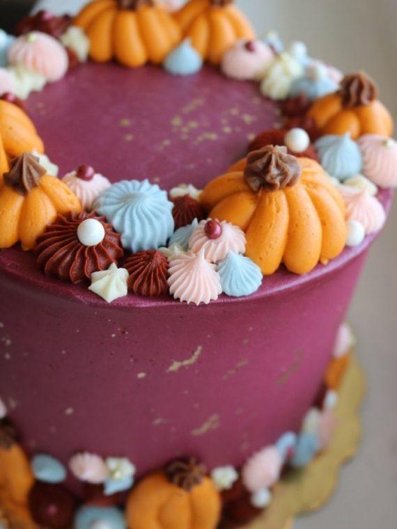 Thanksgiving Cake | 3 Sweet Girls Cakery
