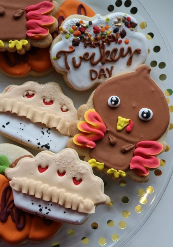 Thanksgiving Cookies | 3 Sweet Girls Cakery