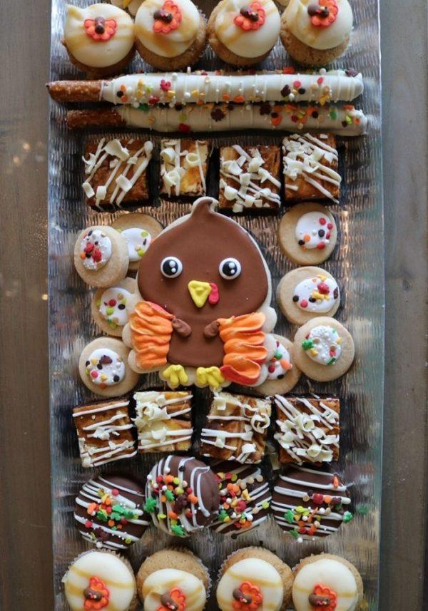 Thanksgiving Dessert Tray | 3 Sweet Girls Cakery