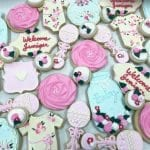 Vintage Baby Shower Cookie Assortment