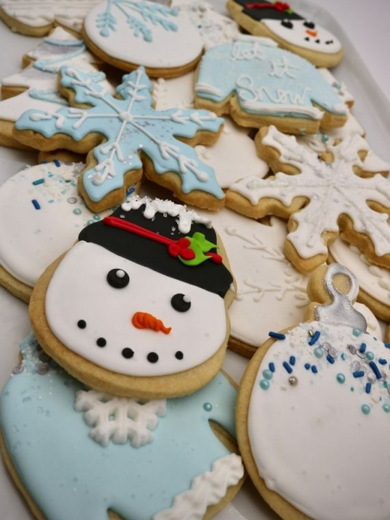 Winter Cookies | 3 Sweet Girls Cakery