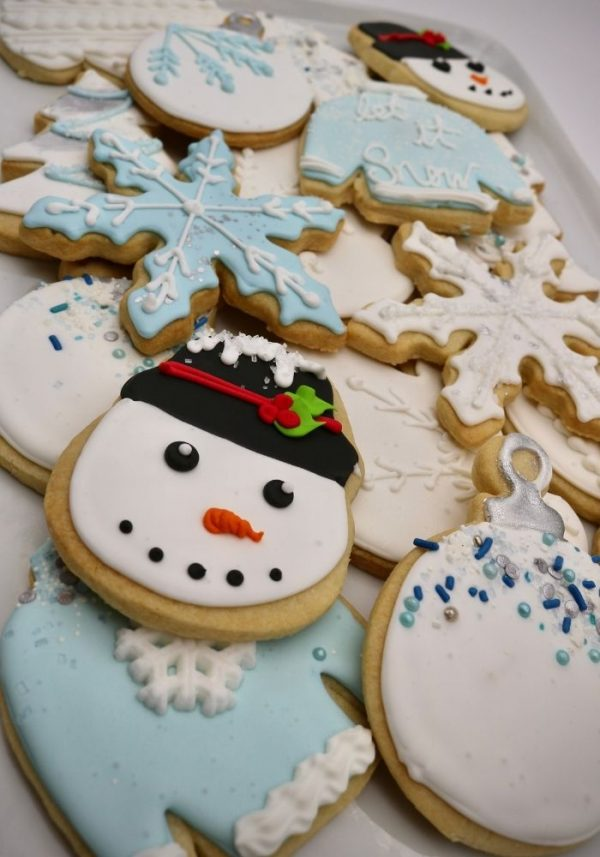 Winter Cookies | 3 Sweet Girls Cakery